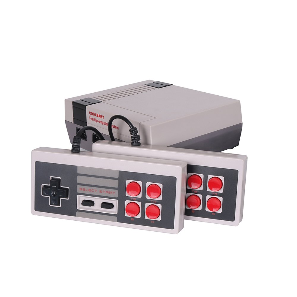 Video Games Retro Gaming Console Preloaded with 600 Retro Games Children Gifts Home Entertainment (HDMI Out) by Coolbaby (Image #2)