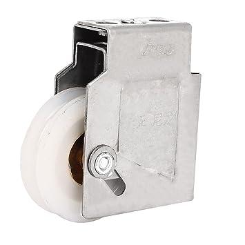 sourcingmap® 43 mm Diámetro de la rueda de nylon blanco Armario ...
