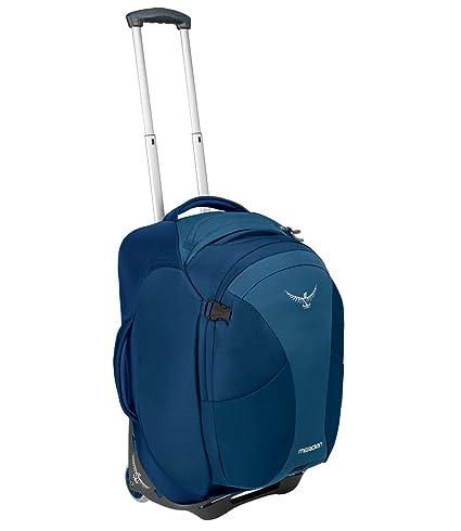Amazon.com  Osprey Packs Meridian 60L 22 Wheeled Luggage, Lagoon ... 650f0ea258