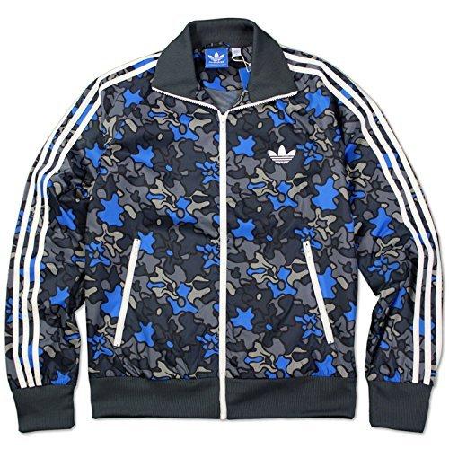Adidas Originals pájaro de fuego Windbreaker Chaqueta Trébol ...