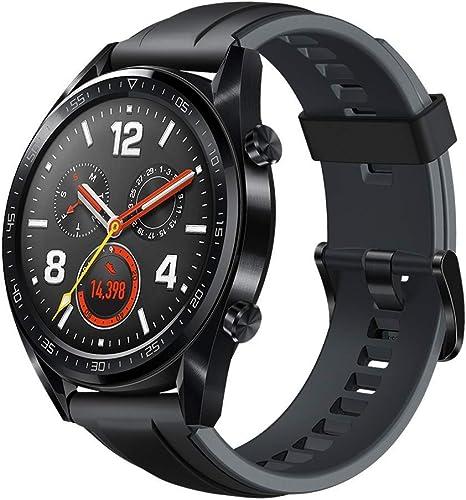 Huawei Watch GT Sport - Reloj (TruSleep, GPS, monitoreo del ritmo ...