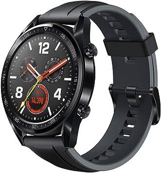 Huawei Watch GT Sport Reloj (TruSleep, GPS, monitoreo del ritmo cardiaco), Negro