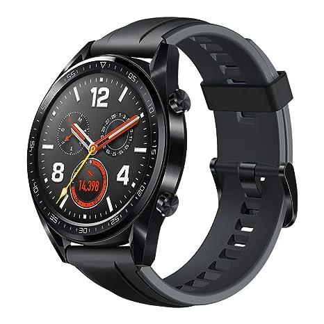 Huawei Watch GT Sport - Reloj (HUAWEI TruSleep, GPS, monitoreo del ritmo cardiaco), Negro