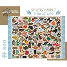 Tree of Life 500-piece Jigsaw Puzzle: Written by Charley Harper, 2012 Edition, (Pzzl) Publisher: Pomegranate Communications [Toy]