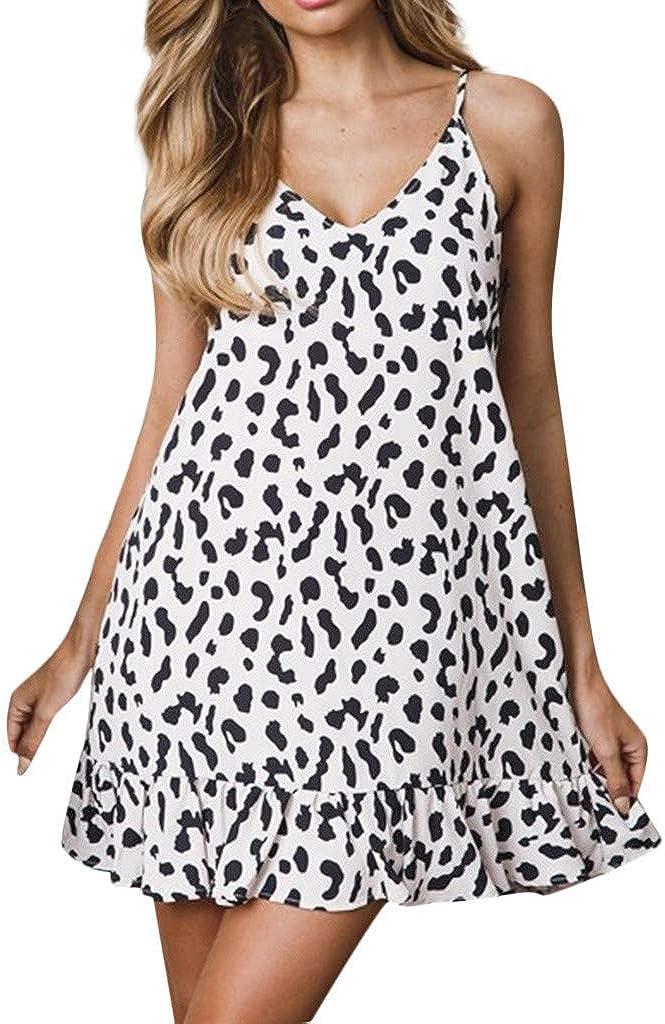 TOPUNDER Womens Bodycon Dress Bandage V Neck Evening Party Club Sling Short Mini Dress