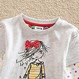 VIKITA Winter Toddler Girl Clothes Cotton Long Sleeve Girls Dresses Kids 2-8 Years