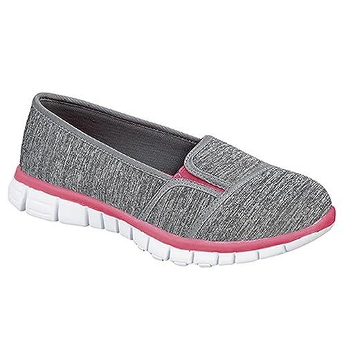 Dek - Zapatillas deportivas sin cordones con memory foam para mujer: Amazon.es: Zapatos y complementos