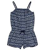 Nautica Toddler Girls' Fashion Romper, Navy Pom Pom, 2T