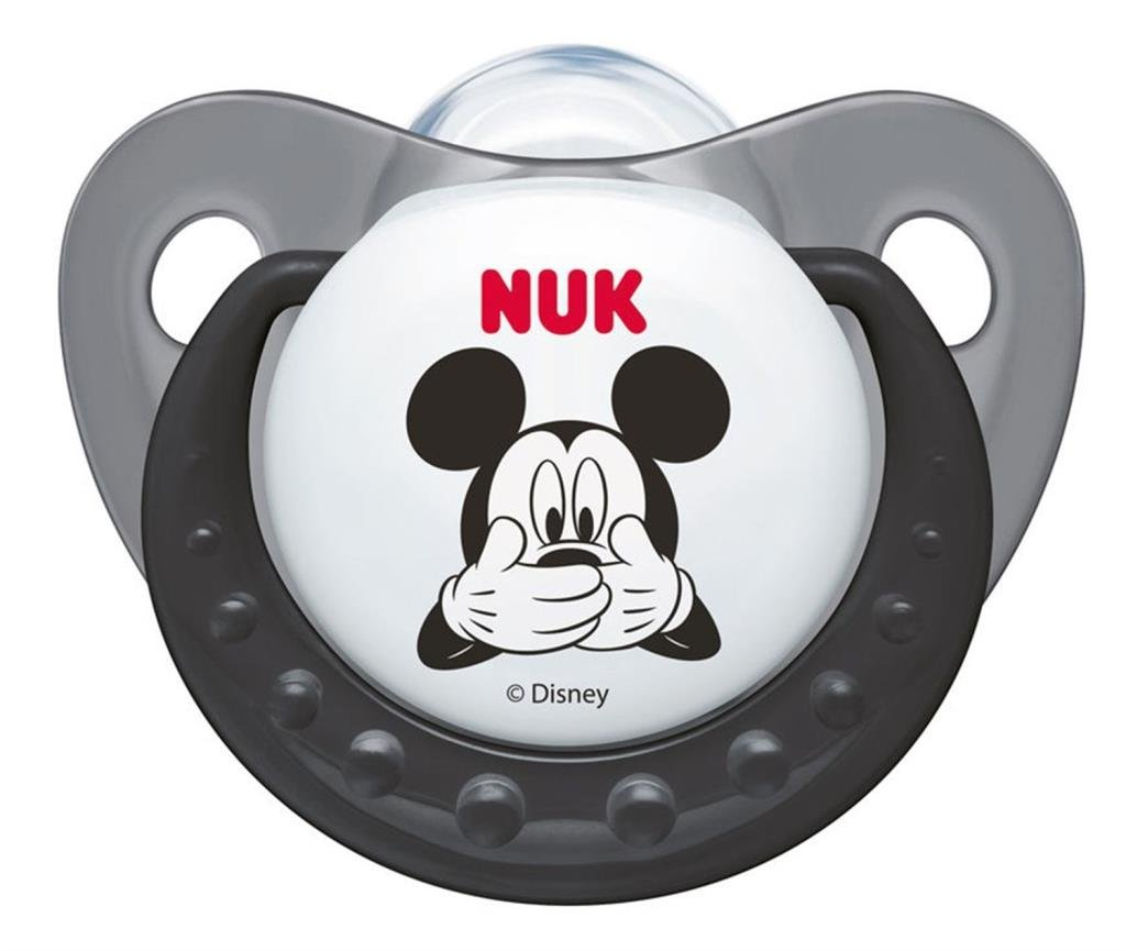 NUK CHUPETE TRENDLINE MICKEY MOUSE SILICONA 0-6 M 1 UD
