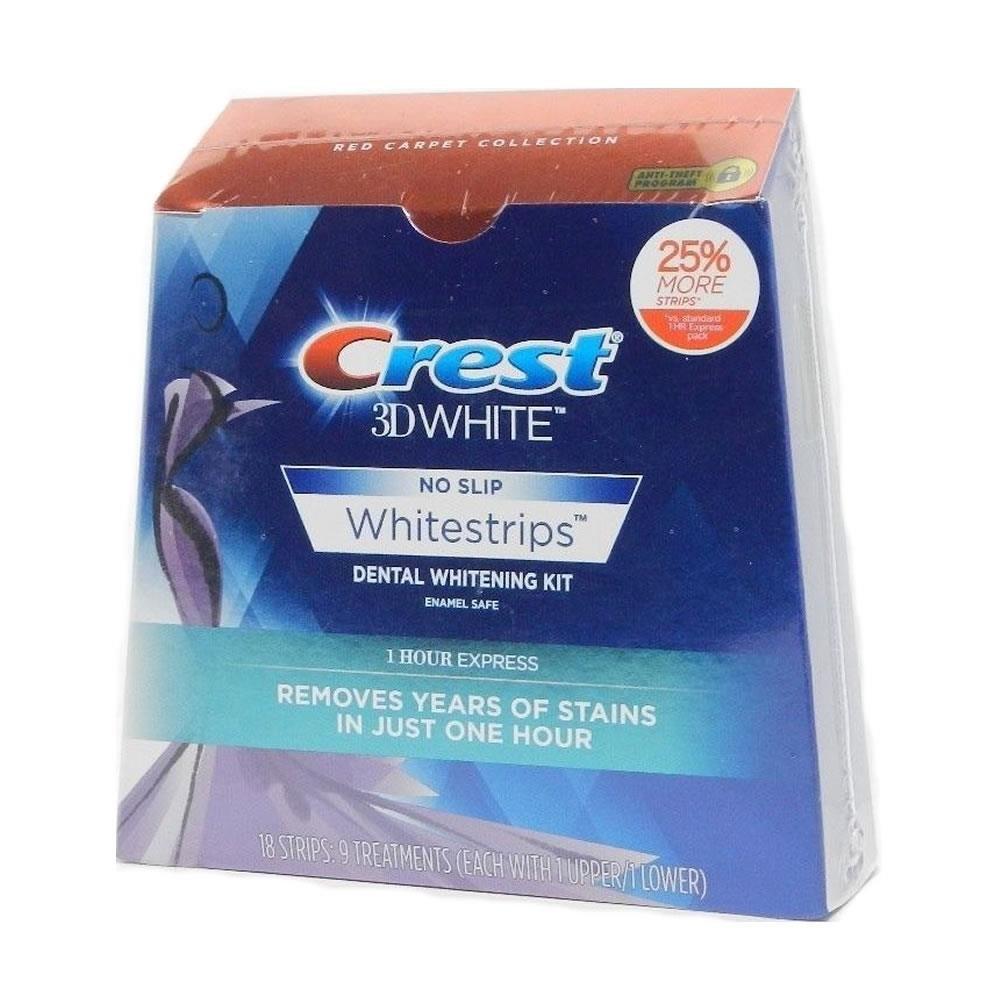 Crest 3d Whitestrips 1 Hour Express, 9 Treatments, 0.1 Pound