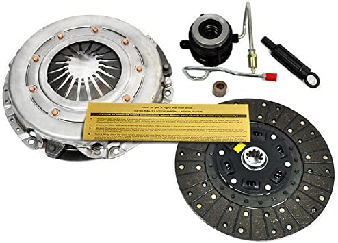 EFT HD PREMIUM CLUTCH KIT w// SLAVE CYLINDER for 1987-1992 JEEP CHEROKEE 2.5L