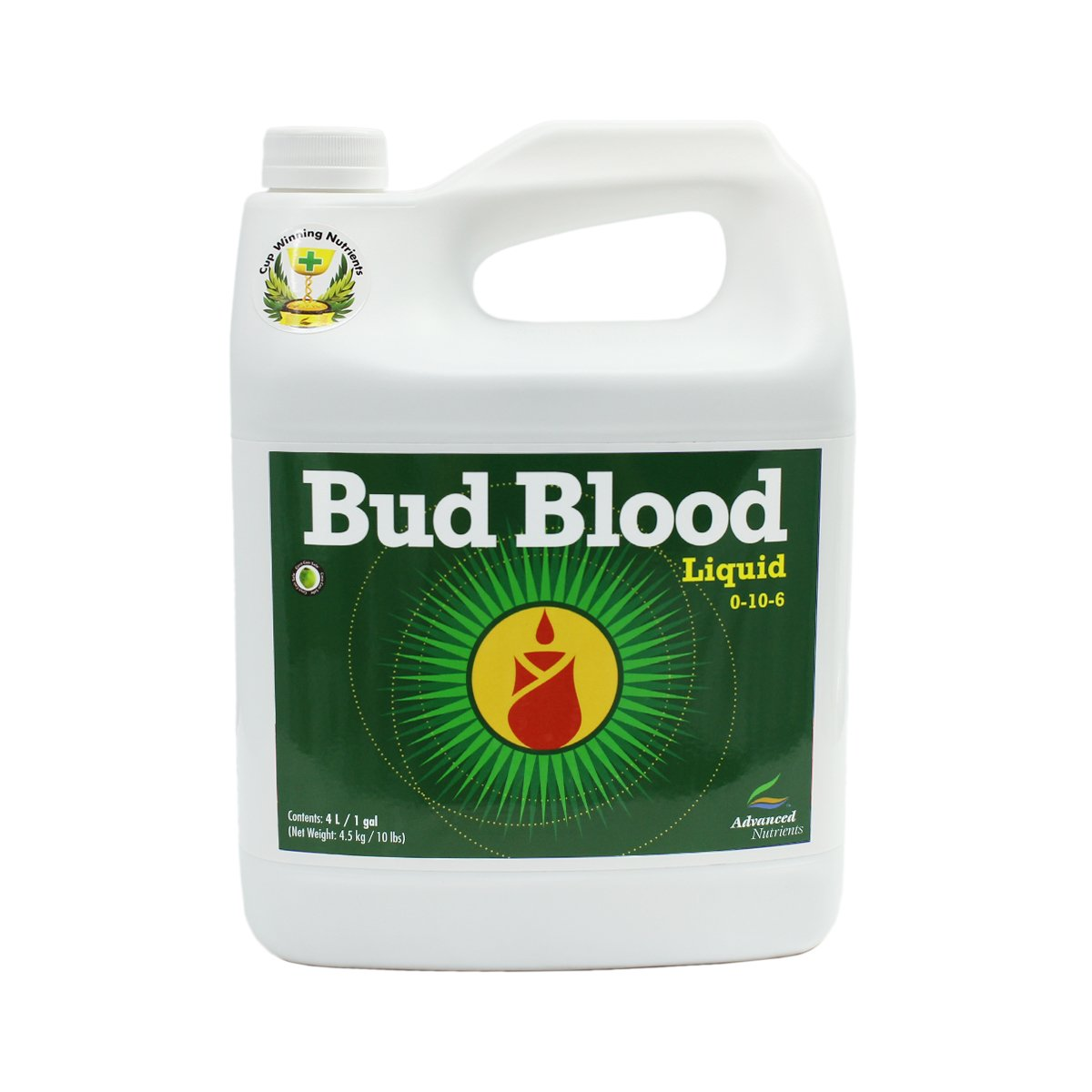 Advanced Nutrients Bud Blood Soil Amendments, 4 L by Advanced Nutrients