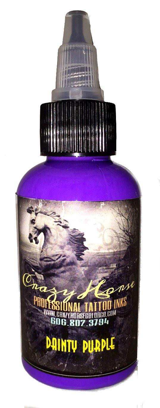 Crazyhorse High Quality Tattoo Ink - Dainty Purple