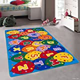Cheap Allstar Kids / Baby Room Area Rug. Learn ABC / Alphabet Letters Baloons. Learn ABC / Alphabet Letters Baloons Bright Colorful Vibrant Colors (3′ 3″ x 4′ 10″)