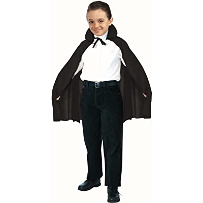 "Forum 27"" Child Costume Cape, Black: Toys & Games"
