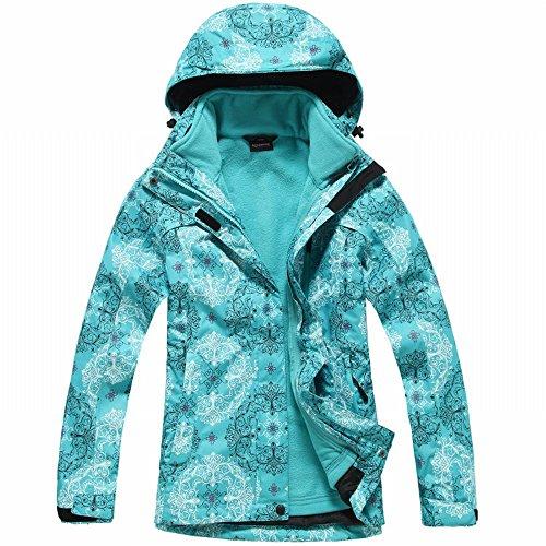 Combo Asalto Mujer Cálido Fleece Impermeable de Manera Chaqueta Marea la Abrigo de Abrigo XXXL Segundo Fleece Asalto Femenina DIDIDD Triple fxqzY8g6Ww