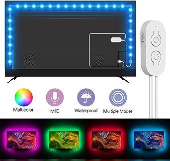 Lumary - Tira de luces LED para TV de 46-60 pulgadas (5050 ...