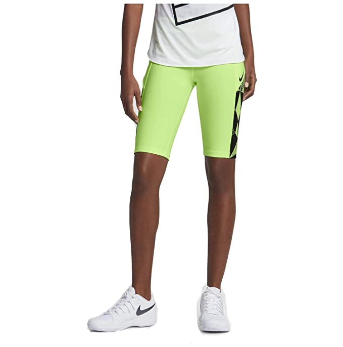 """info for 80a74 995e5 NIKE Women's Court Dry 11"""" Tennis Short 845730 (X-Small, Ghost Green"""
