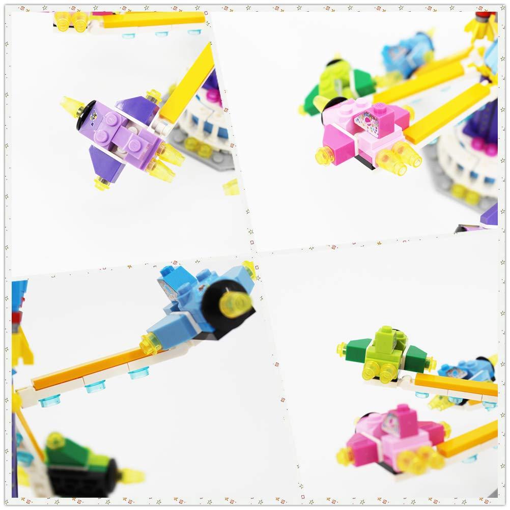 Carousel LOZ IDEAS LOZ Building Block Amusement Park Mini Handmade Kit,Construction Toy Birthday Gift Kid Adult