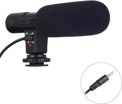 Micrófono Multifuncional MIC-02 30-18000Hz Rate Sound Clear Stereo Micrófono para Smartphone, Longitud de Cable: 28 cm: Amazon.es: Electrónica