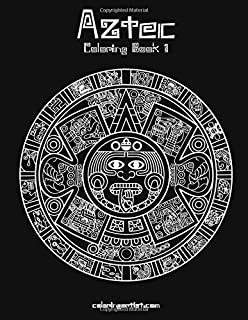Adult coloring book coloring book for adults featuring 30 beautiful aztec coloring book 1 volume 1 fandeluxe Image collections