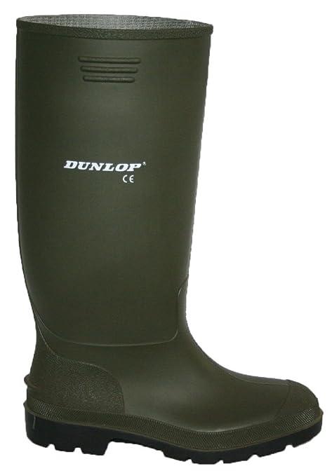 Dunlop - Stivali di Gomma Nero e Verde da Uomo Completamente Impermeabile  Misure 3 - 12  Amazon.it  Abbigliamento 1e519350d83