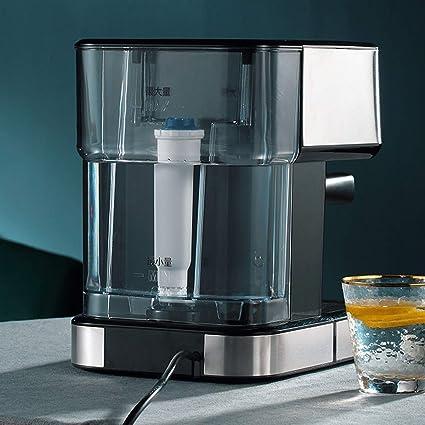 AGWa Máquina de café espresso, con filtro de agua Consumo de