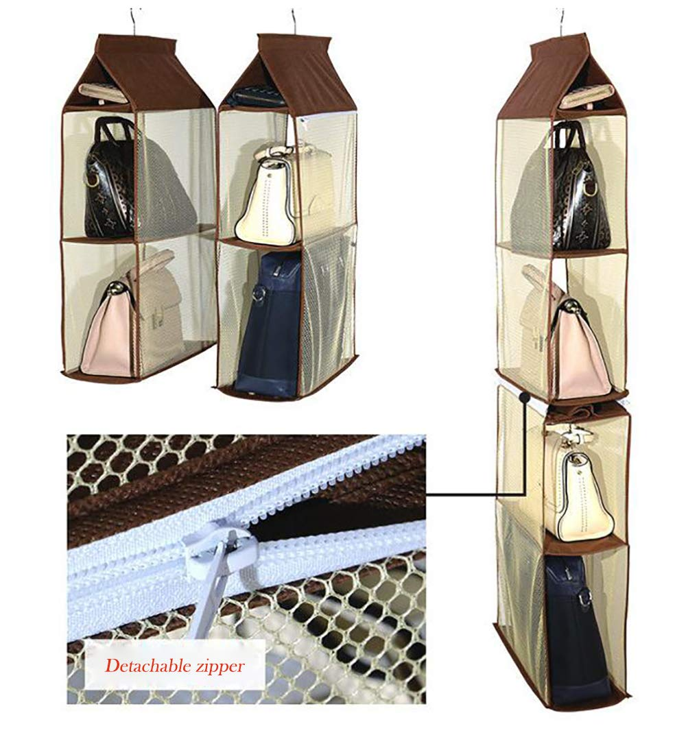4-TIER SEE-THROUGH DOUBLE STORAGE HOLDER