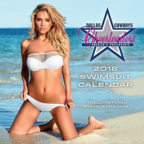 2018 Dallas Cowboys Cheerleaders Mini Wall Calendar - Dallas Cowboys Cheerleaders Wall
