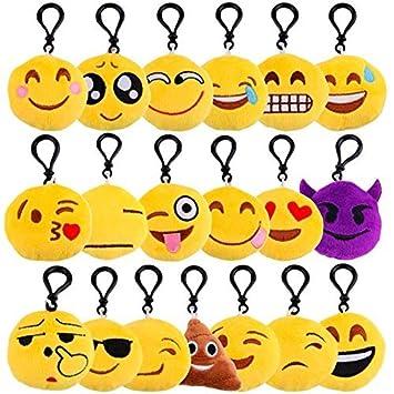 Lote 20 Llaveros Emoticonos - Ideal Para Detalles de Bodas ...