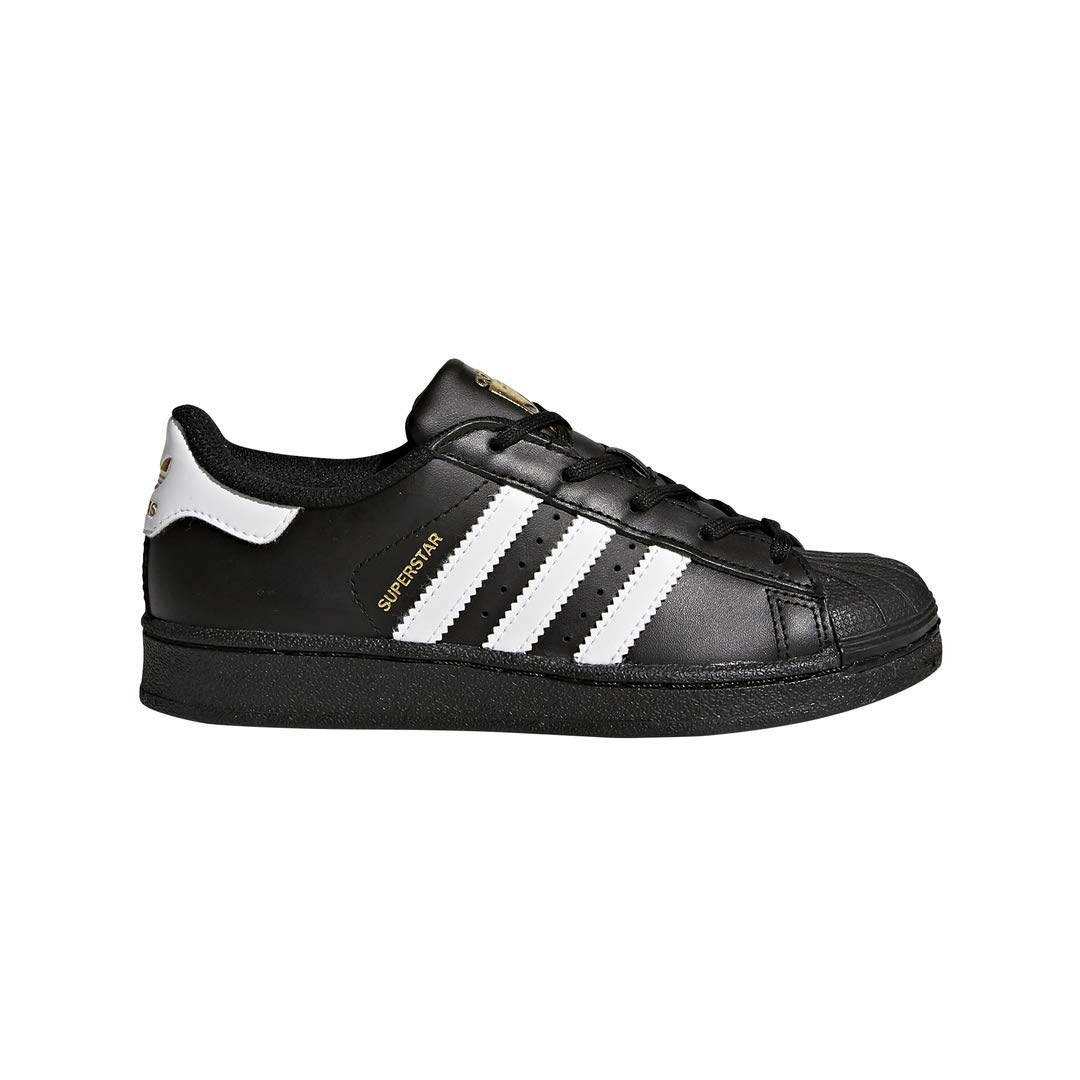 adidas Originals Superstar Sneaker, White/Core Black, 13 M US Little Kid by adidas Originals