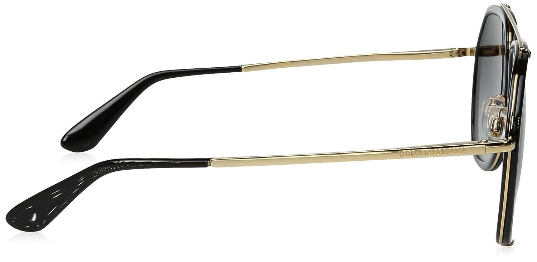 82462d05fa Dolce and Gabbana 2161 02 / 8G Black Gold 2161 Aviator Sunglasses Lens  Category: Amazon.com.mx: Ropa, Zapatos y Accesorios
