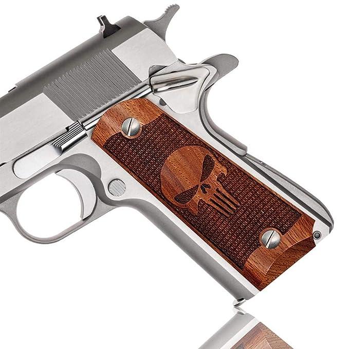 Amazon.com: 1911 Grips Fits Full Size & Comandante Colt, Sig ...