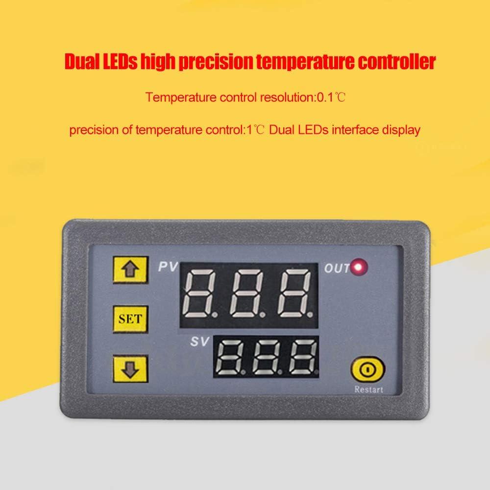 3230 Contr/ôleur de temp/érature Affichage num/érique Thermostat Module Interrupteur de commande de temp/érature Micro-chauffage Refroidissement Panneau de commande de temp/érature