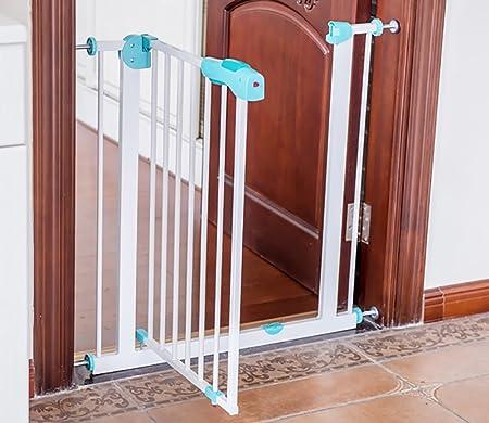 YHDD Puerta de Seguridad para bebés Puerta de Aislamiento niños balcón Puerta Protectora para Perros escaleras protección protección Puerta Fija (Tamaño : 115-124cm): Amazon.es: Hogar