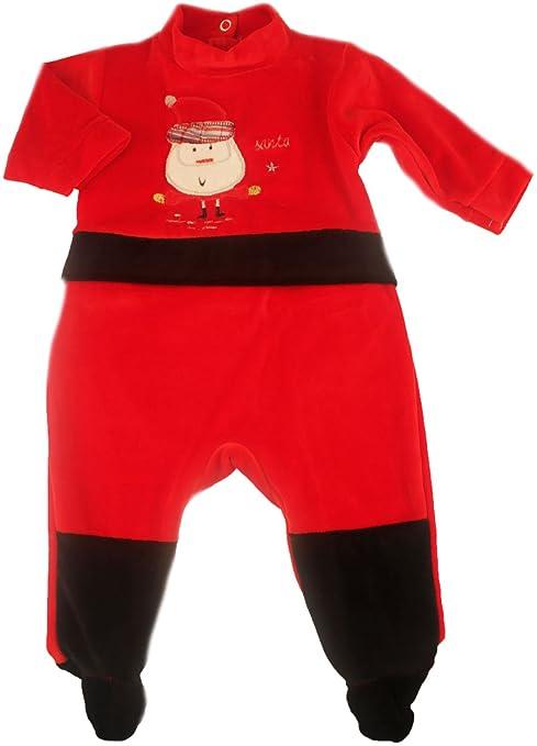 Pijama-Mono para bebé, diseño de navideño Santa Fdmp 3 meses,