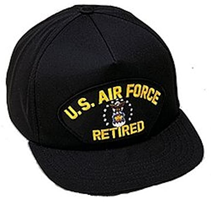 fbe5b6ff8cd Amazon.com  U.S. Air Force Retired Ballcap  Baseball Caps  Clothing