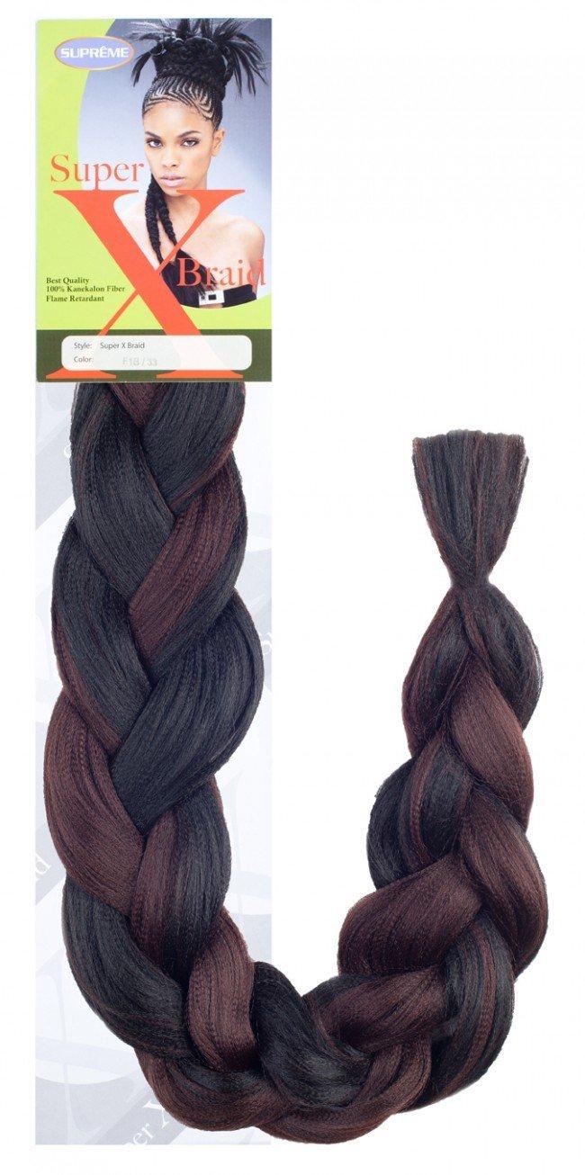 Super X Braid Supreme Super X Braid 100 Kanekalon Fiber Braiding Hair 1