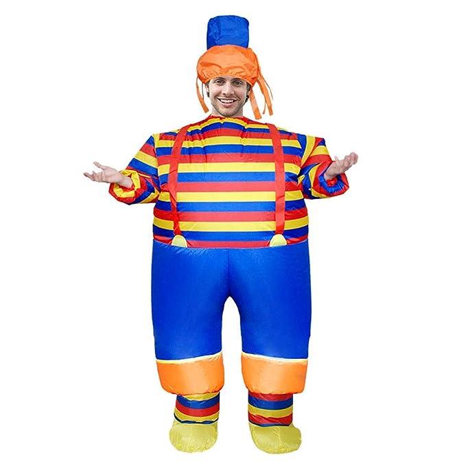Amazon.com: JOFOW Chidren - Disfraz hinchable a rayas, traje ...