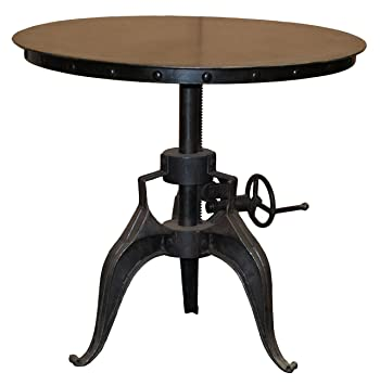 Kosas Home Durable Adjustable Crank Patio Bistro Table (30 Inches).  Clearance!