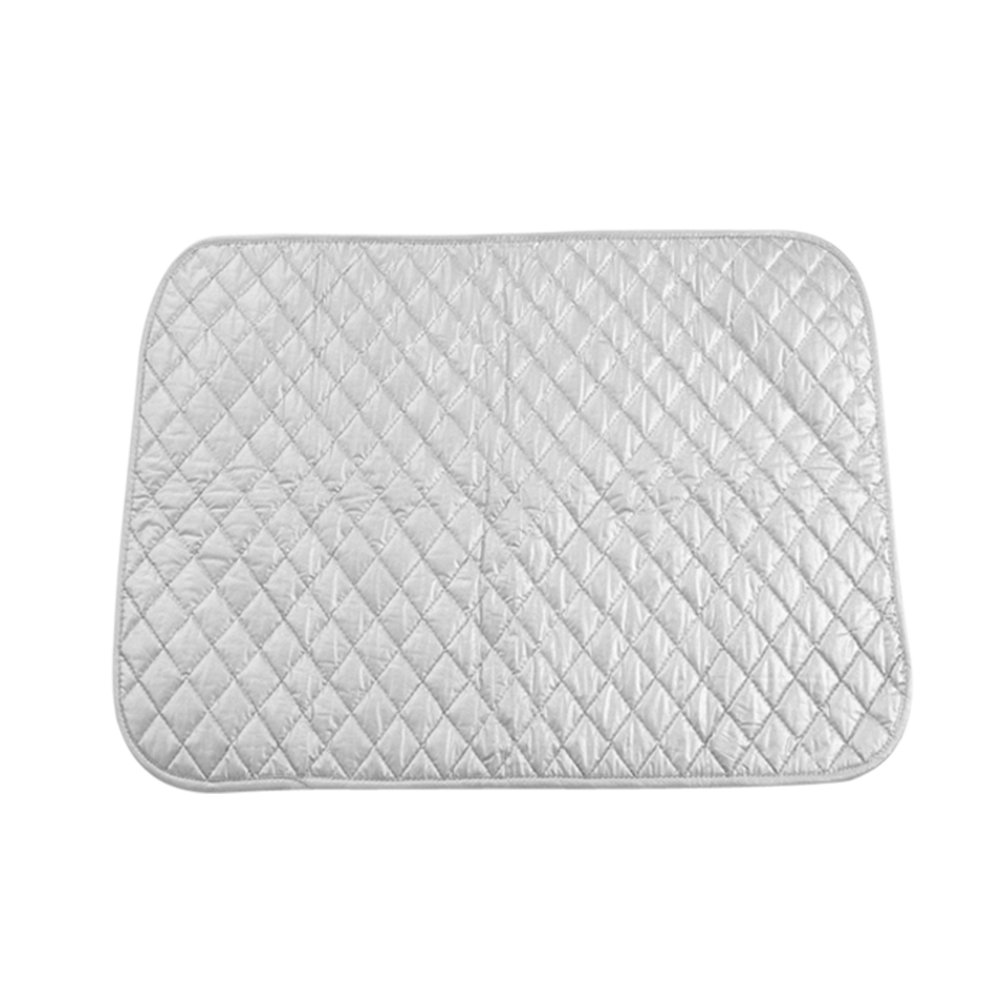 Ironing Blanket Mat Instant Ironing Board Alternative to Iron Board Quilted Breathable Washer and Dryer Safe Heat Resistant(48X85 cm/ 18.9X33.5 inch) Yosoo
