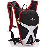 West Biking® 5 L Outdoor Cycling Climbing Travel Marathon to Hold Water Mini Bicycle Bike Backpack Running Bag