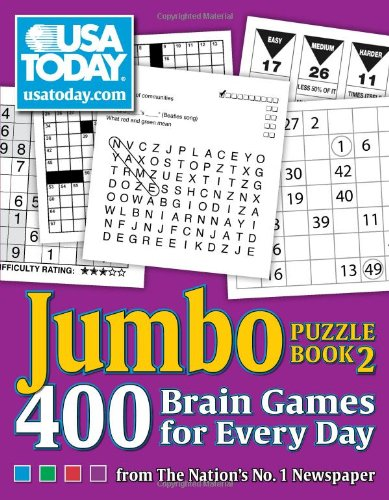 Pdf Humor USA TODAY Jumbo Puzzle Book 2: 400 Brain Games for Every Day (USA Today Puzzles)