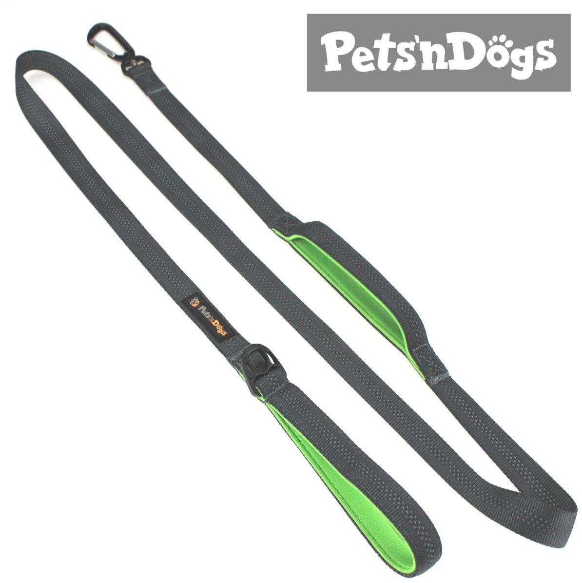 Pets'nDogs Führleine   Gepolsterte Hundeleine für große und mittlere Hunde   Verschiedene Längen   Reflektierend   Extrem leicht product image