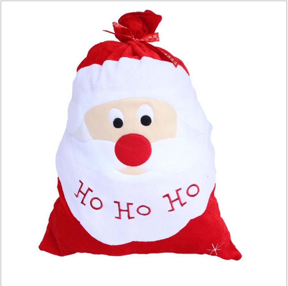 Amazon large santa toy bag gift wrap for