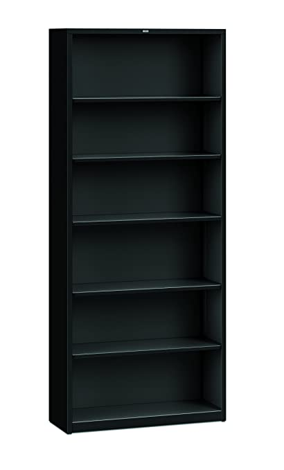 Marvelous HON Brigade Metal Bookcase   Bookcase With Six Shelves, 34 1/2w By