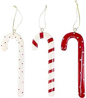 amazon com kurt adler h0073 candy cane ornament set set of 12