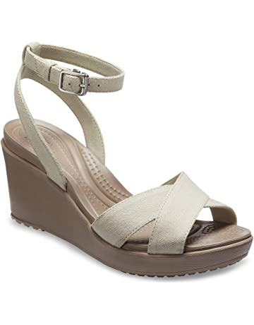 bf7fa01d10d Women's Platform Wedge Sandals | Amazon.com