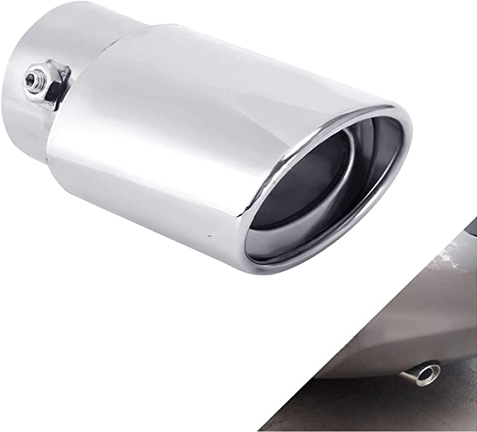 Car Muffler tips Double Wall Exhaust tip Stainless Steel to give chrome effect To Fit 3 Inch Exhaust tail Pipe Diameter