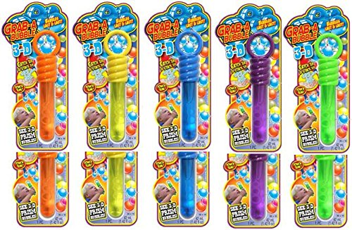 Ja-Ru Grab-A-Bubble with 3-D Bundle Pack (3d Bubble)